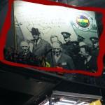Atatürk'ün Şükrü Saracoğlu'ndaki fotoğrafı