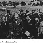 Atatürk'ün fenerbahçe SEMTİNİ ziyareti
