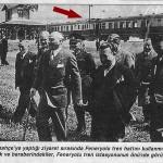 Atatürk'ün Fenerbahçe SEMTİNİ trenle ziyareti