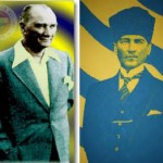 Ulu Önder'in photoshop ile oynanmış resimleri