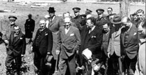 """Atatürk'ün Fenerbahçe """"semtini"""" ziyareti"""