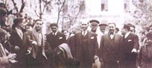 Atatürk'ün Galatasaray ziyaretlerinden...